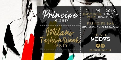 Principe Night - Milano Fashion Week Party - 21 Settembre