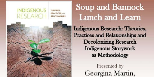 Soup & Bannock Lunch & Learn with Georgina Martin