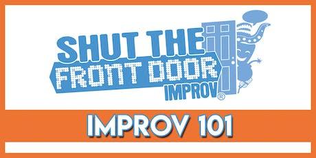 Adult Improv 101 -  Starting October 17, 2019 tickets