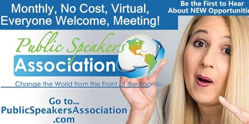Tracy Public Speakers Association