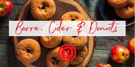 Pure Barre, Cider, & Donuts tickets