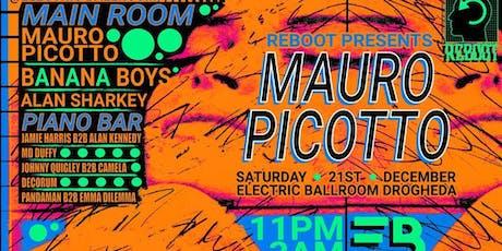 ReBoot Presents : Mauro Picotto at Electric Ballroom tickets