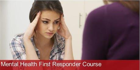 Mental Health First Responder Course - Sheffield tickets