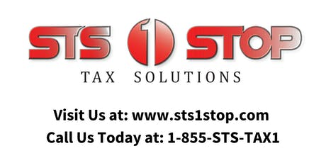 STS 1 Stop Tax Business Seminar - Southfield tickets