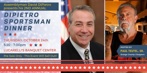 DiPietro 2nd Annual Sportsman Dinner