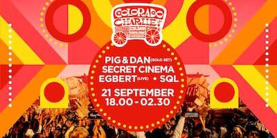 Pig&Dan, Secret Cinema, Egbert LIVE, SQL