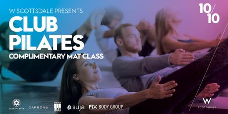 Free Club Pilates Mat Class - 10/10 tickets