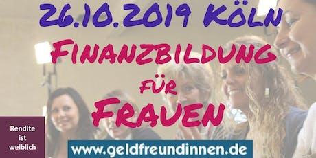 Frauen-Finanz-Forum Köln Tickets