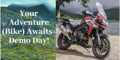 Your Adventure (Ride) Awaits- Demo Day