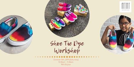 Shoe Tie Dye Workshop tickets
