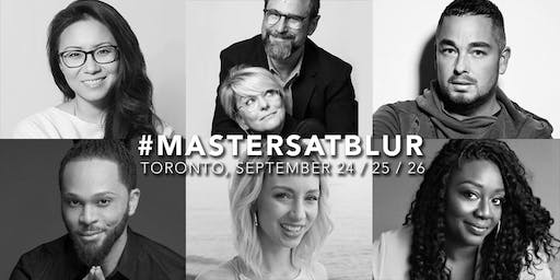 MASTERS AT BLUR - MAKEUP MASTERCLASSES
