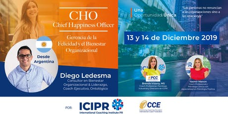 Chief Happiness Officer /Gerencia del la Felicidad y el Bienestar tickets