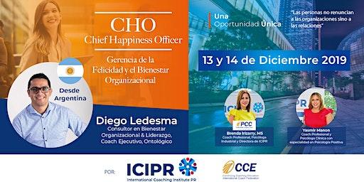 Chief Happiness Officer /Gerencia del la Felicidad y el Bienestar