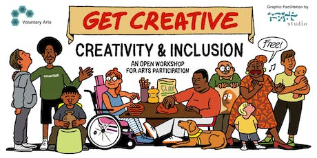 Creativity and Inclusion: an open workshop for arts participation tickets