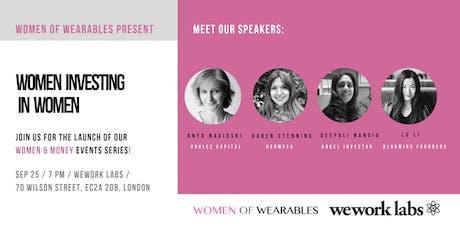 Women & Money events series: Women Investing In Women tickets