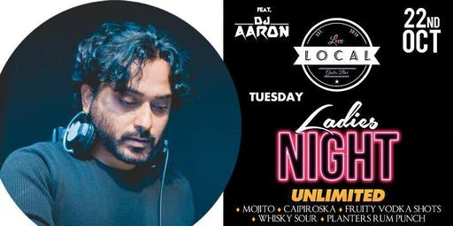 Tuesday Ladies Night - Dj Aaron