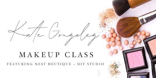 Kate Gonzalez Makeup Class