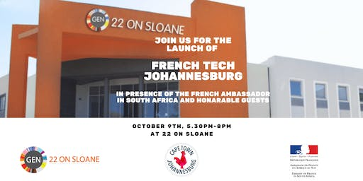 Launch Event of French Tech Johannesburg