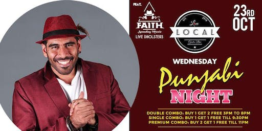 Wednesday Punjabi Night - Dj Faith