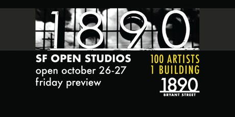 1890 Bryant Street Studios VIP Preview Night ArtSpan 2019 - over 100 artists tickets
