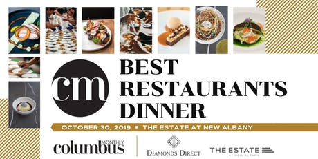Columbus Monthly's Best Restaurants Dinner 2019 tickets