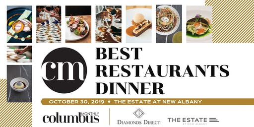Columbus Monthly's Best Restaurants Dinner 2019