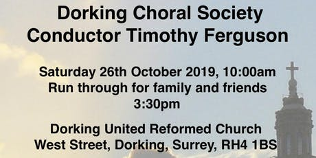 Come and Sing Duruflé Requiem tickets