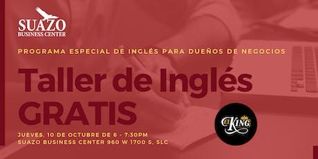 Taller de Inglés Gratis tickets
