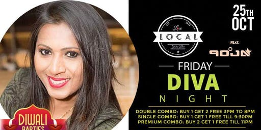 Friday Diva Night - Dj Pooja