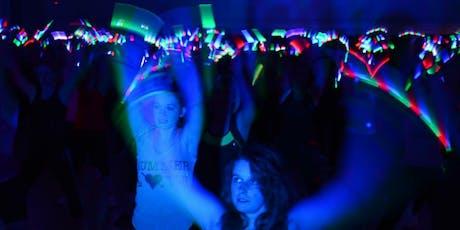 EVERY MONDAY St Bridget's Catholic Church 7:15pm-8:15pm GLOW DANCE FITNESS tickets