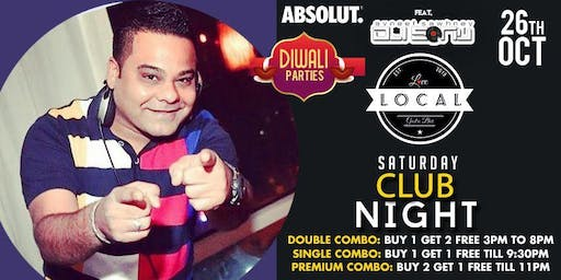 Saturday Club Night - Dj Sonu
