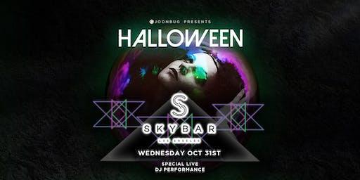 Joonbug.com Presents The Skybar Mondrian Halloween Party