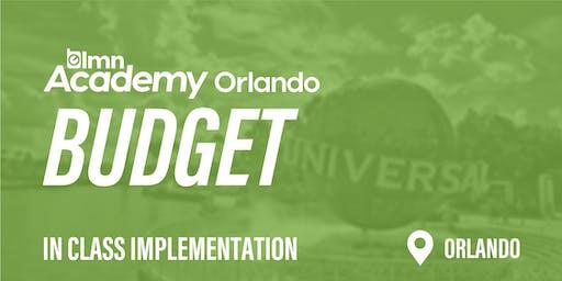 LMN Budget In Class Implementation - Orlando, FL