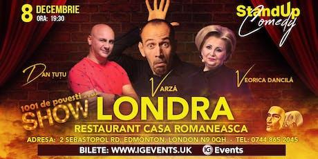 Londra Stand Up Comedy  - Dan Tutu, Varza si Veorica Dancila tickets