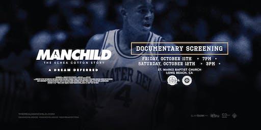"MANCHILD ""The Schea Cotton Story"" Screening @ St. Mark Baptist Church"