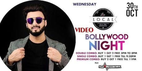 Wednesday Video Bollywood Night - Dj Abhishek tickets