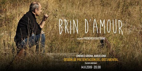 Sesión de presentación del documental Brin d'Amour (14 Nov) entradas