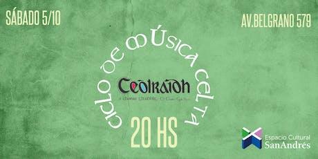 Ciclo de Música Celta - Coro Ceòlraidh entradas