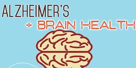 Free Health Seminar: Alzheimer's & Brain Health tickets