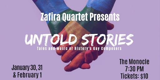 Zafira Quartet Presents: Untold Stories