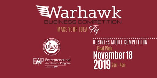 Warhawk Pitch 2019 – ULM Top 6 Final Pitch