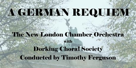 Brahms German Requiem Tickets