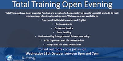 Total Training Open Evening