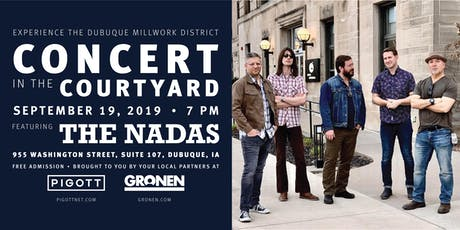 Concert in the Courtyard featuring The Nadas tickets