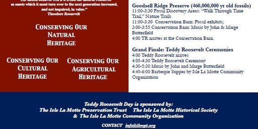 Teddy Roosevelt Day - An Autumn Festival - Barbecue