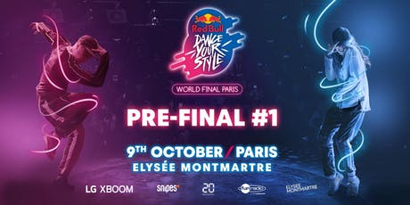 Red Bull Dance Your Style World Final - Pre Final #1 tickets