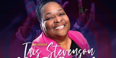 PROFESSOR IRIS STEVENSON-MCCULLOUGH LIVE RECORDING tickets