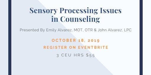 Sensory Integration For Counselors