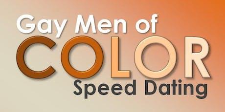 Gay Men Of Color Speed Dating - Fri 11/8 tickets