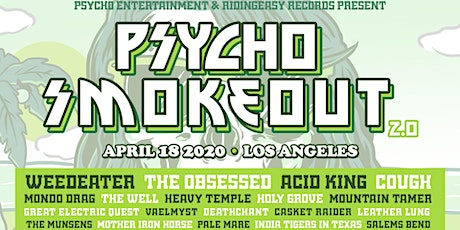 Psycho Smokeout 2020 tickets
